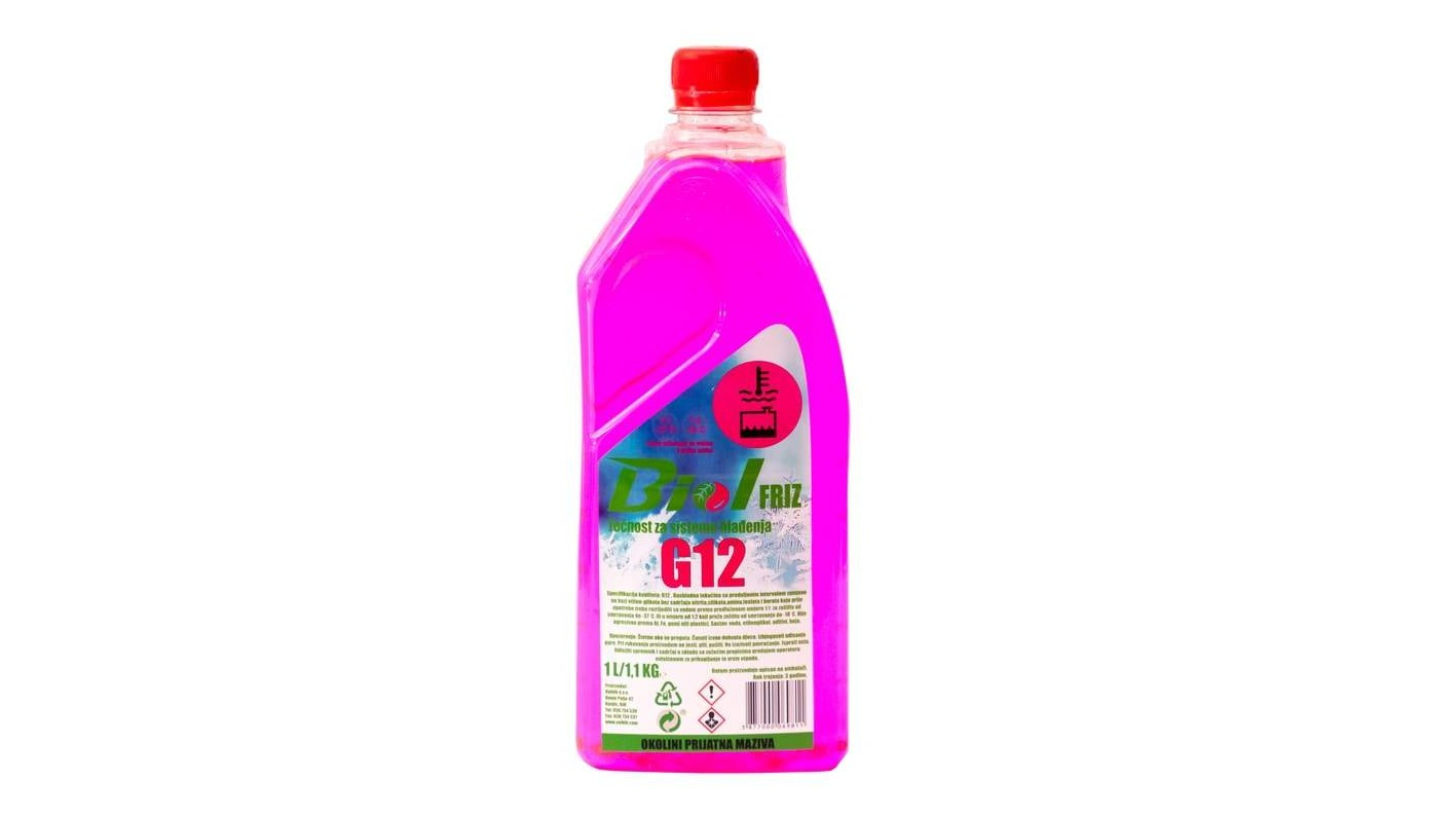 Antifreeze G12 (concentrate and solution -40)