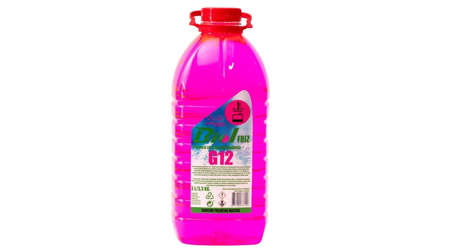 Antifreeze G12 + (concentrate and solution -40)